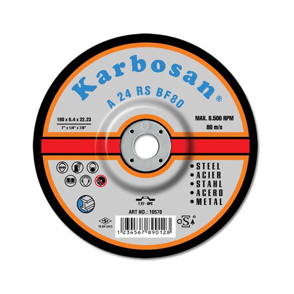 Karbosan Metal Grinding Disc